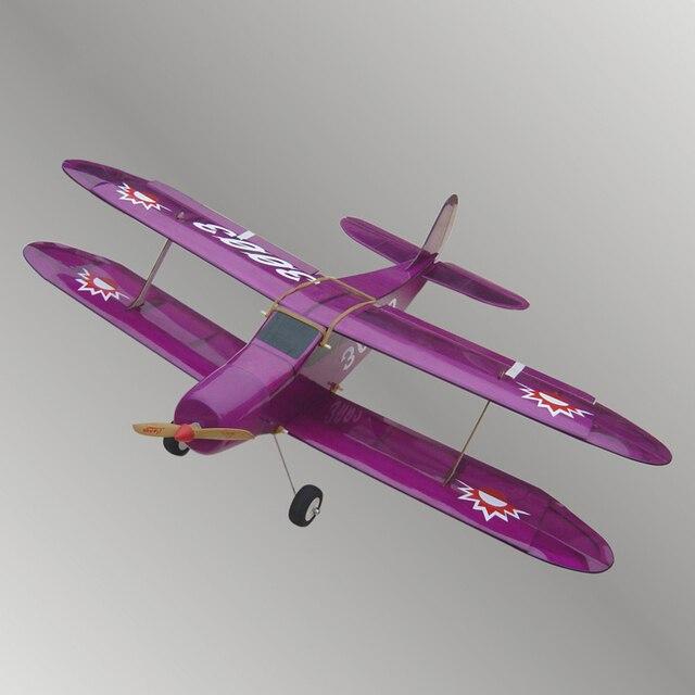אור עץ כנף קבועה שלט רחוק מטוסי מודל מטוסי דגם טיסנים חשמליים אשור 7