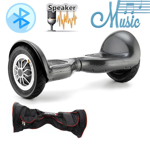 IScooter Hoverboard 6.5/10 Inch Bluetooth 2 Wheel Self Balancing Electric Scooter Two Wheel 10'' With App Control LED Skateboard