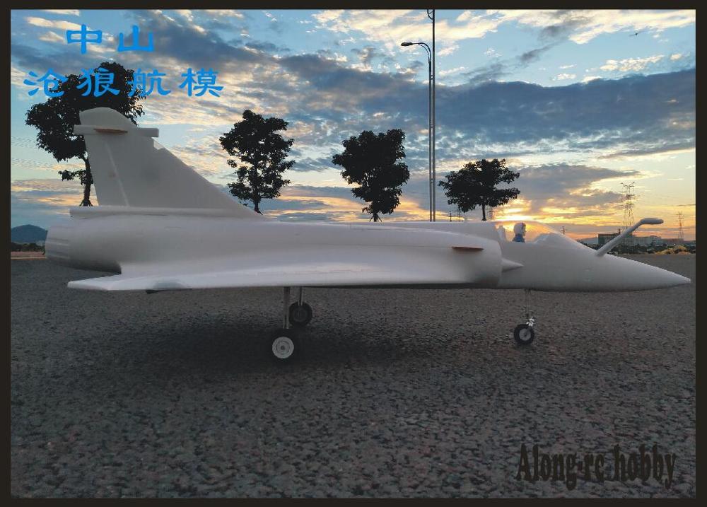 Avion RC EPO 90mm, mousse de Jet EDF, Mirage 2000, kit (KIT uniquement de mousse/pas de télécommande) 5