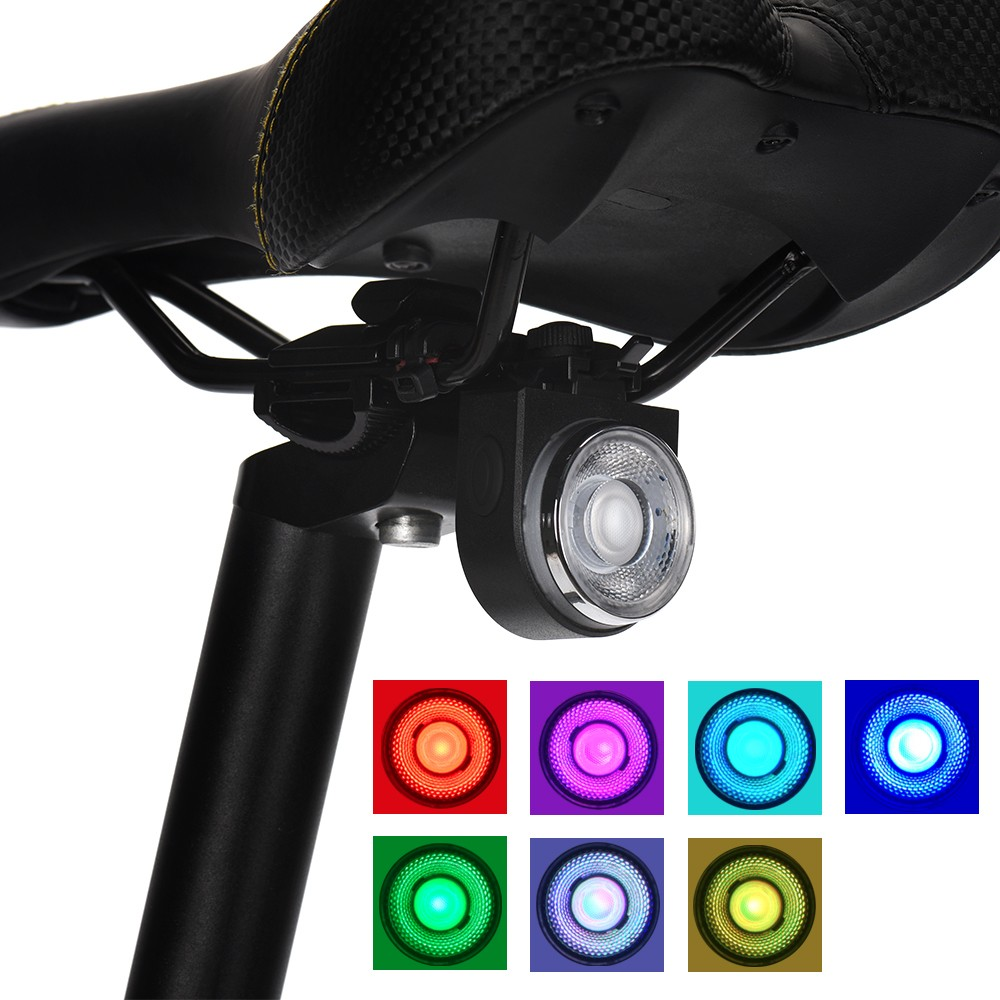 Multi Lighting Modes Bike Light Bicycle Luz Bicicleta LED Light USB Charging Led Battery Indicator Bicycle Colorful Taillights