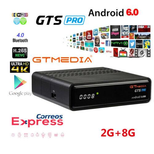 GTmedia GTS PRO Android 6.0 Smart TV BOX Amlogic S905D 2GB + 8GB Set Top Box 4K HD H.265 2.4G Wifi Media Player TV BOX IPTV M3U