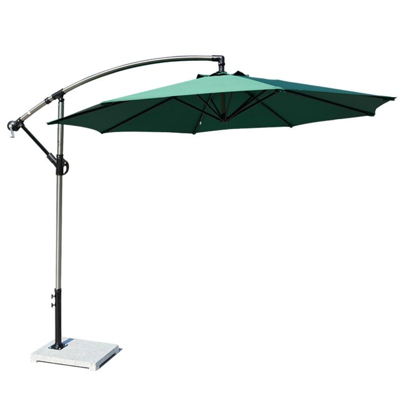 Garden Leisure Large Sun Umbrella Sunshade Advertising Booth Banana Umbrella Outdoor Combination Cheap Ombrellone Spiaggia