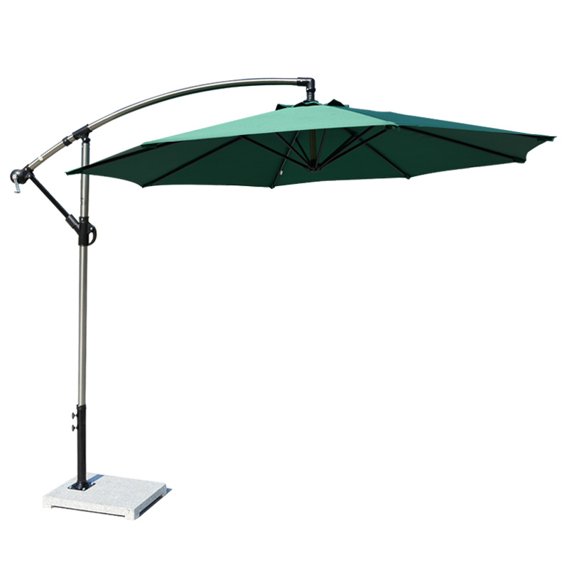 Garden Leisure Large Sun Umbrella Sunshade Advertising Booth Banana Umbrella Outdoor Table And Chair Umbrella Combination