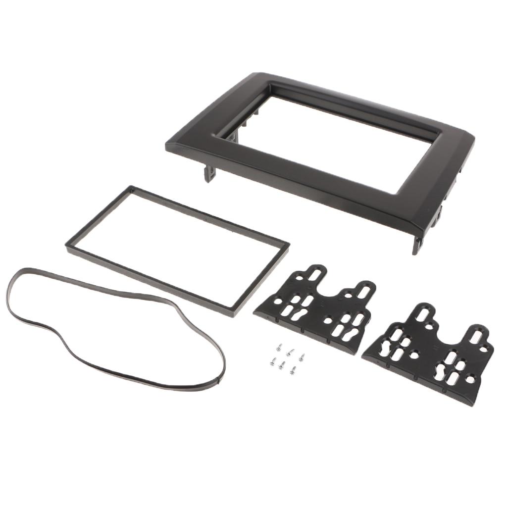 2DIN Car Stereo Fascia Dash Panel Kit For Volvo XC90 2002-2014