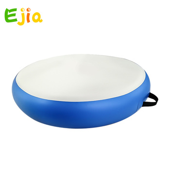 Hot No pump Inflatable Airspot Gymnastics Airtrack Air Track Air Spot Tumbling Mat Round Mat for Gym, Tumbling and Training
