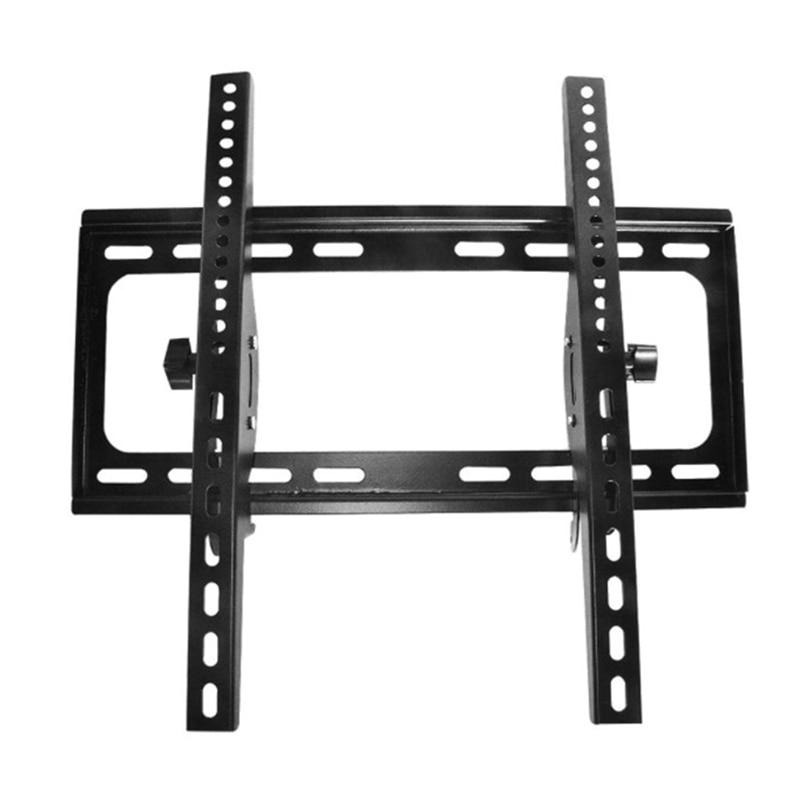 Adjustable TV Wall Mount Bracket Flat Panel TV Frame Support 15 Degrees Tilt, for 23-55 Inch LCD LED TV Frame