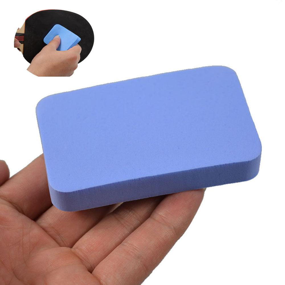 Durable Soft Table Tennis Bats Cover Care Wash Sponge Pad Cleaning Accessory