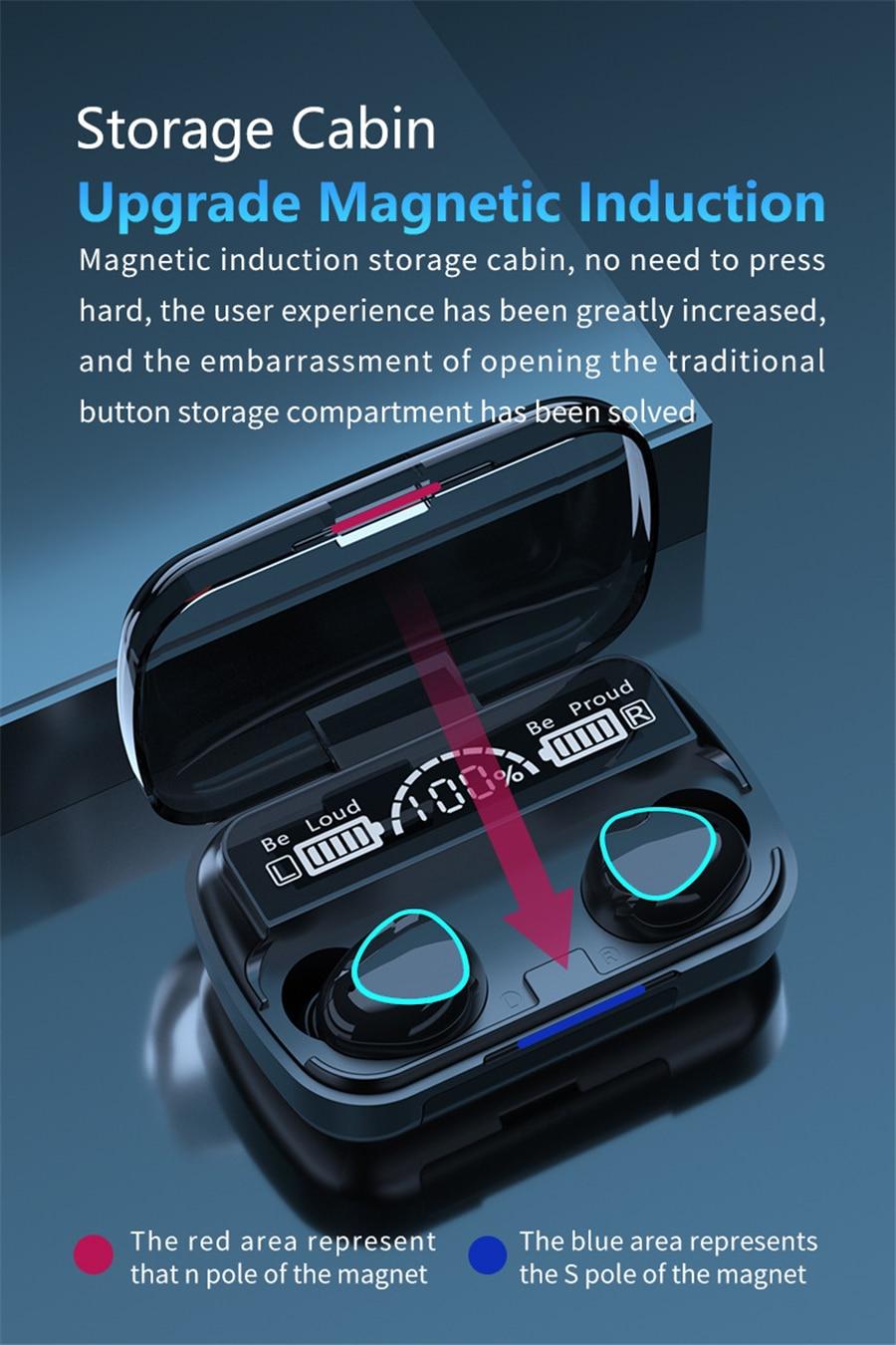 M10 TWS Wireless Earbuds 5
