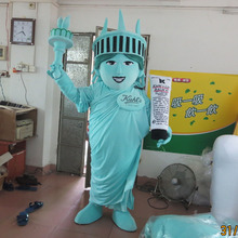 Statue of liberty mascot costume