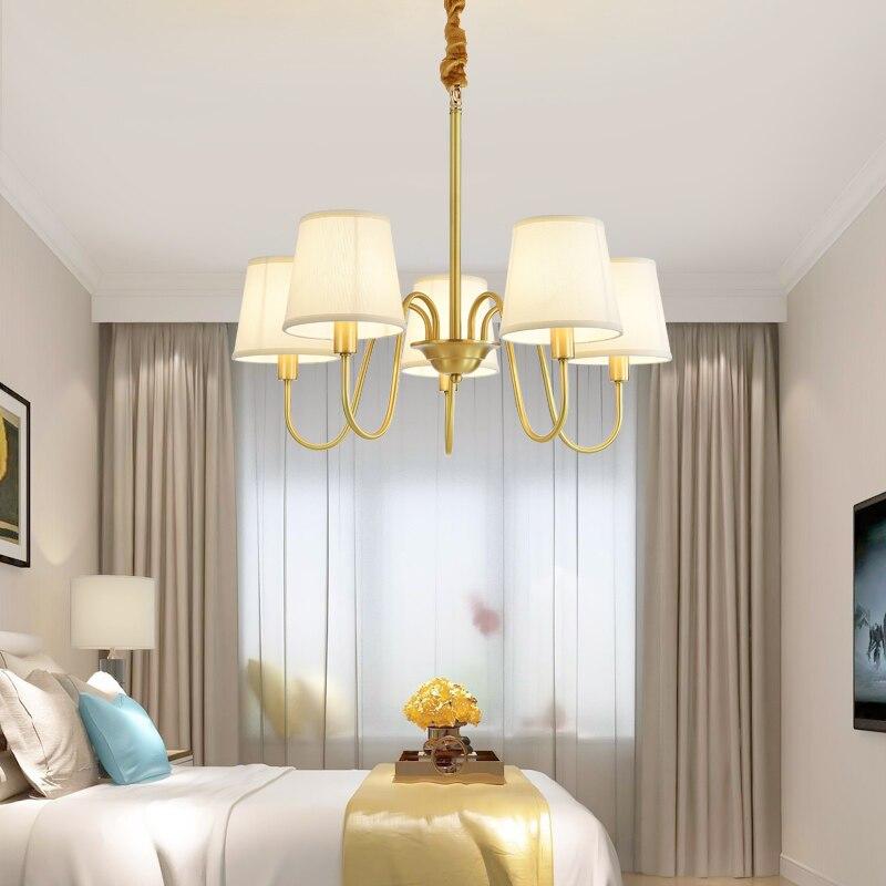 Veayas lampa miedziana żyrandol światła żyrandol do salonu oświetlenie luksusowe lampa miedziana nowoczesny żyrandol lampadari sufit w Żyrandole od Lampy i oświetlenie na Shenzhen Veayas Lighting Factory Store
