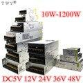 Импульсный источник питания 110 В/220 В на 5 В, 12 В, 24 В, 48 В, светодиодный источник питания CCTV/Светодиодная лента, адаптер питания переменного ток...