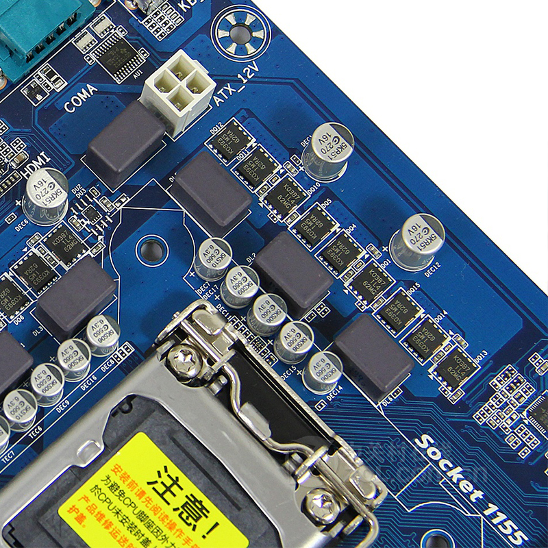For Gigabyte GA-Z77P-D3 Desktop motherboard MB Z77 LGA 1155 ATX DDR3 32GB SATA3.0 USB3.0 100% fully Tested Free shipping 5