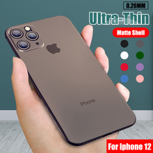 Ultra Thin Matte PP Phone Case For Iphone