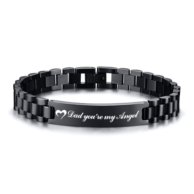 VNOX Custom Personalized Inspirational Gifts-Quote Mantra Engraved Cuff Bracelet Congratulations Jewelry 2019 College Graduation Gift for Her Him Friends,Classmates