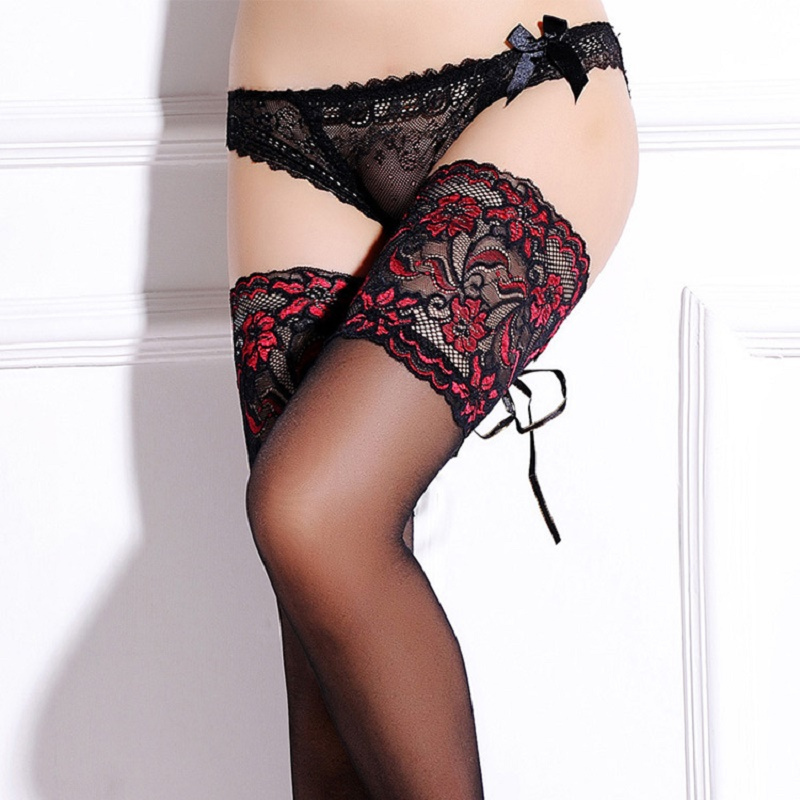 Stockings With Silicone Anti-slip Sexy Lace Sexy Fashion Comfortable 2019 Pop