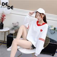 Womens Korean fashion trend chic long-sleeved shirt