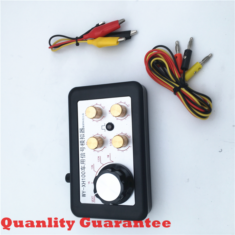 1pc Automobile Signal Simulator Tester Can Test Water/fuel Temperature Sensor Rail Pressure Sensor Crankshaft Sensor