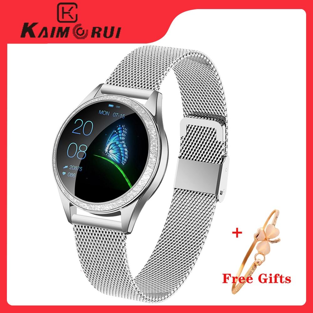 KW20 Smart Watch Women Waterproof Heart Rate Pedometer Blood Pressure Smart Bracelet Smartwatch For IOS Xiaomi Huawei Android