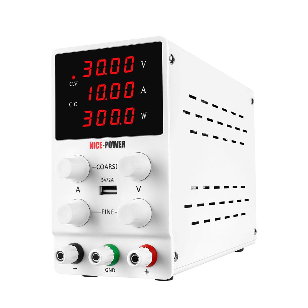 BLAUBUCHT 30V 10A DC Switching Lab Adjustable Power Supply Laboratory Bench Source Digital Current Stabilizer EU US AU UK 220 V-3