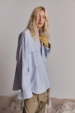 Best Version Long Sleeve Pullover Henley Shirt Oversized Front Flap Pockets Tops Sueded