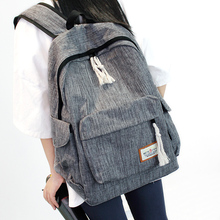 Simple shoulder bag men and women Oxford cloth middle school student bag large capacity travel backpack college wind computer ba new unisex oxford cloth backpack casual travel student backpack tote shoulder bag large capacity computer bag xz 205