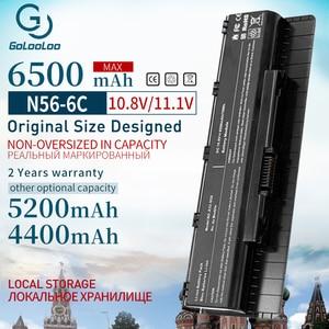 6 Cells Laptop Battery A31-N56 A32-N56 A33-N56 For Asus N56 N56D N56D N56DY N56J N56JK N56VM N56VV N56VZ N56JN N56JR N56V N56VB