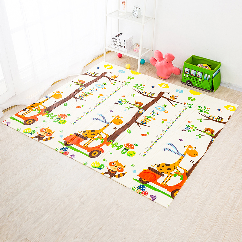 Foldable Baby Play Mat Xpe Puzzle Mat Educational Children's Carpet in the Nursery Climbing Pad Kids Rug Activitys Games Toys | Happy Baby Mama