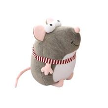 цена Plush Toys Sleeping Pillow Popular Travel Company Toy Gift Cute mouse Stuffed Animal Pillow With Kids Toys онлайн в 2017 году