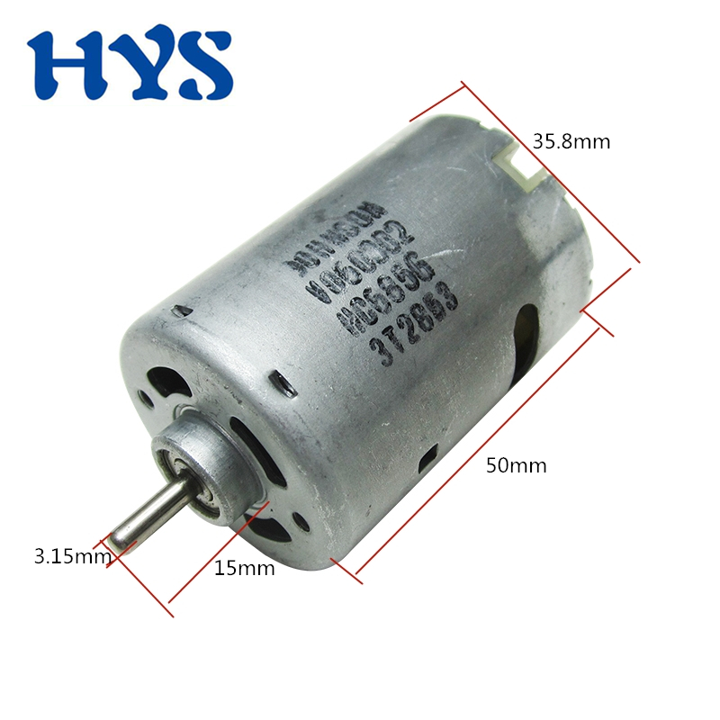 JOHNSON RS-545 DC6V-18V 23800RPM High Speed Large Torque DC Motor Electric Drill
