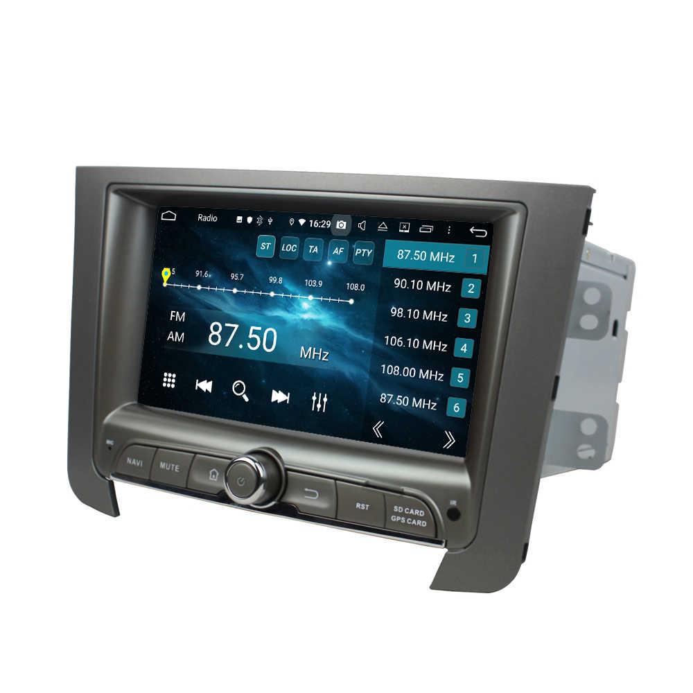 """7 """"lecteur DVD de voiture Android 9.0 pour SsangYong REXTON 2014 sans Deckless PX5 lecteur multimédia de voiture 8 Core Audio stéréo 4 + 64G Navigation"""