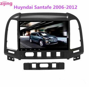 2Din Huyndai IX45(Santafe) 2006-2018 car multimedia stereo video player Radio Android 9.0 smart DVD host GPS large-screen naviga image