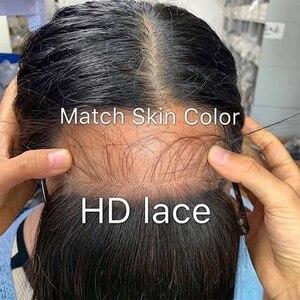 5x5 HD Кружева Закрытие отбеленные узлы бразильский прямой Прозрачный Кружева Закрытие с волосами ребенка 6X6 Закрытие человеческих волос HD за...