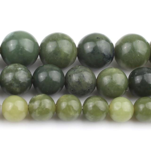 Bracelet Jade Vert Pierres Naturelles 1