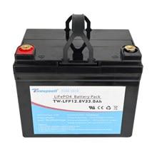 30AH LifePo4 Lithium Iron Phosphate Battery with BMS for Golf cart EV RV Solar Energy Storay