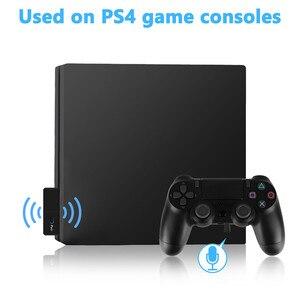 Image 3 - Bluetooth 5.0 émetteur Audio Dongle EDR A2DP SBC faible latence USB C type c adaptateur sans fil et micro pour Nintendo Switch PS4 TV PC