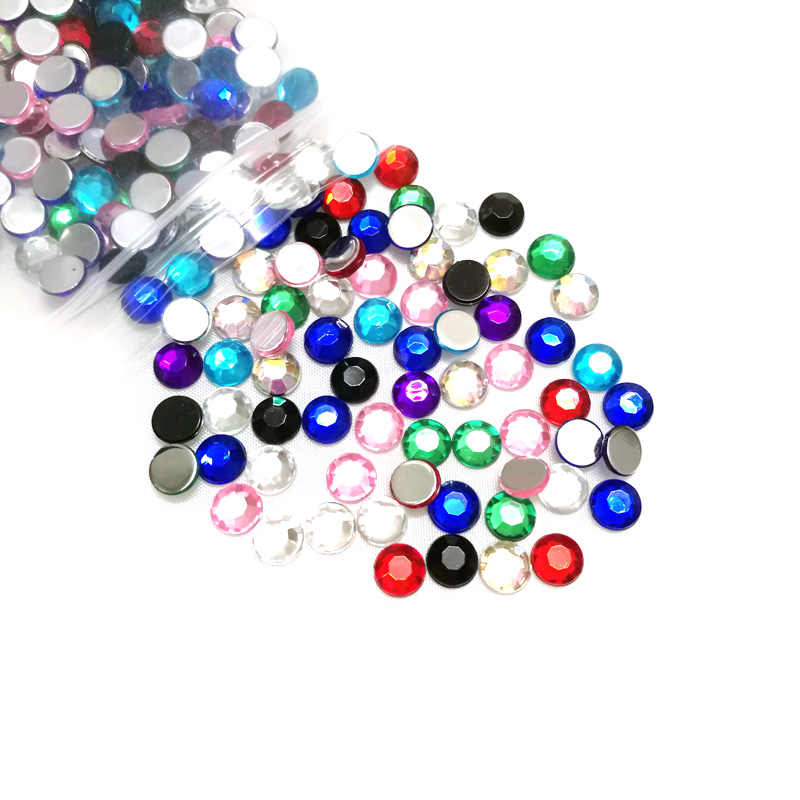 100 Sparkling Rhinestone 3mm 4mm Half Round Flatback Crystal Bead Buy More Save