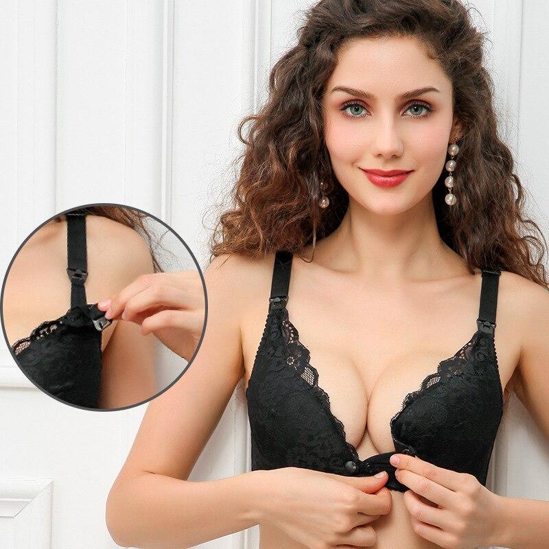 Soutien-gorge en coton respirant, sous-vêtement pour maternité, ajustable, pour allaitement, sous-vêtements pour femmes