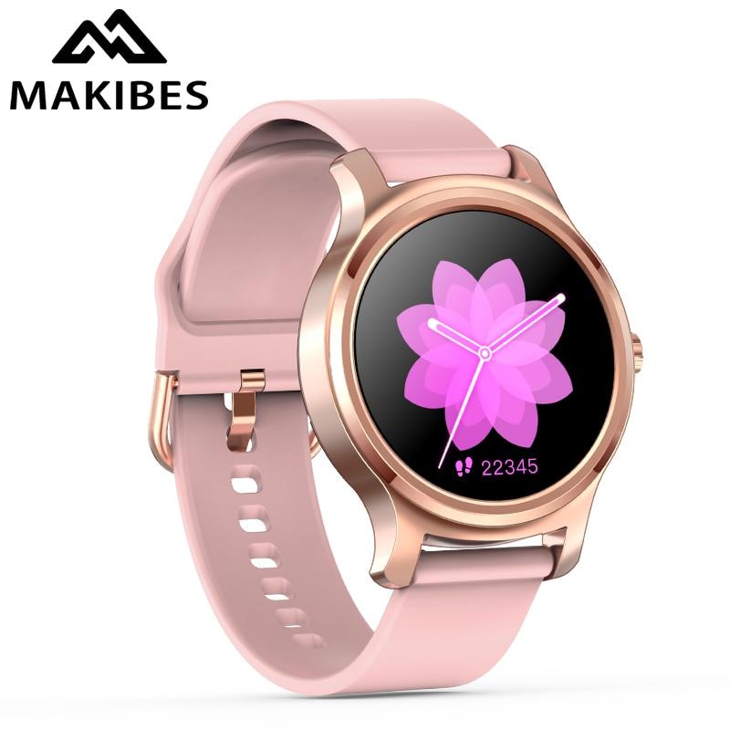 Reloj inteligente Makibes R2 para hombre, con Bluetooth, Monitor de ritmo cardíaco, recordatorio de mensajes de llamada, música, Playe, rastreador de Fitness, reloj inteligente Reloj inteligente I5 para mujeres/hombres Monitor de ritmo cardíaco Seguimiento de la presión arterial Bluetooth reloj inteligente para mujeres para Apple Watch Andriod