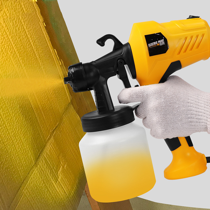 220V Electric Paint Sprayer Tool Airless Painting Compressor Machine Adjustable Flow Control For Cars Furniture Woodworking