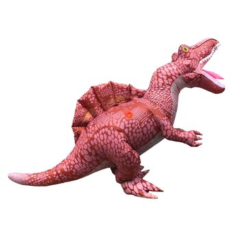 Cosplay Halloween Party Game Adult Children Inflatable Suit Tyrannosaurus Rex Dinosaur Inflatable Clothes Show Props