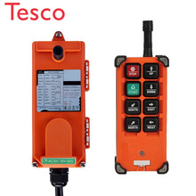 Original TELECRANE Wireless Industrial Remote Controller Electric Hoist Remote Control 1 Transmitter + 1 Receiver F21-E1B two speed four direction crane industrial wireless remote control transmitter 1 receiver f21 4d ac110 sensor motion livolo