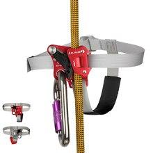 SRT – rehausseur de pied pour escalade, avec ceinture à pédales, corde de préhension, équipement Anti-chute, pour les pieds gauche et droit