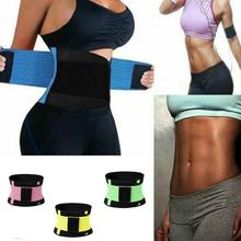 Sports Abdomen Waist Trainer Belt for Women  Waist Trimmer  Slimming Body Shaper Belt  Sport Girdle Belt body belt купить