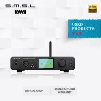 Used products SMSL DP3 DAC ES9018Q2C USB Decoder Amp Balanced Digital BT4.0 LAN Network WIFI DSD Coaxial/Optical DAC Audio AMP