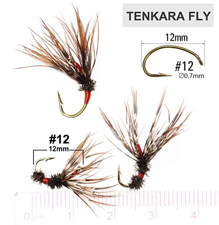 24pcs/box Tenkara Flies with Waterproof Fly Box 2