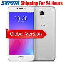 Meizu M6 2GB 16GB 4G LTE MEILAN M6 Mobile Phone 5.2 inch Screen 3070mAh battery MTK6750 Octa core fingprint GPS dual SIM