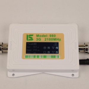 Image 3 - ZQTMAX 62db 3G signal booster 2100 MHz band B1 UMTS cellular amplifier mini lcd display