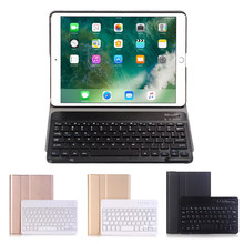Wireless Bluetooth Keyboard Cover For iPad mini 4 Case A1538 A1550 Removable Pencil Holder Stand Case For iPad mini 4 Case(China)