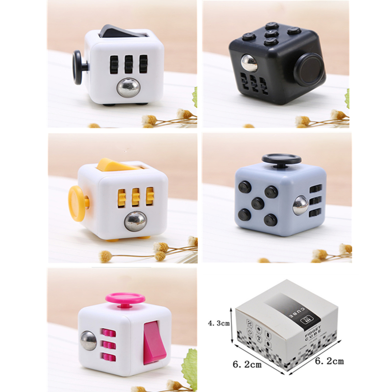Decompression Magic Cubes New Fidget Stress Cube Toy For Anti Stress Cube Artifact Creative Toy