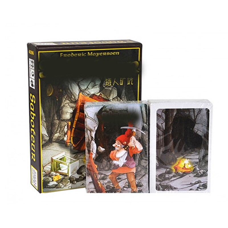 Saboteur  1 Version Board Game Base Board Game